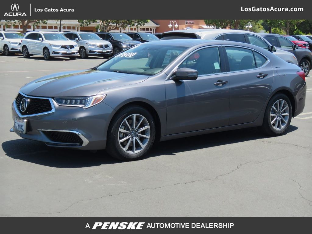 Pre-Owned 2018 Acura TLX 4DR SDN FWD