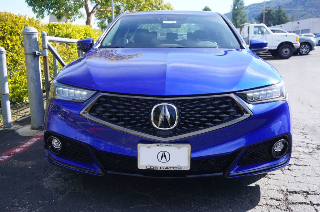 new 2020 acura tlx with a-spec package sedan in los gatos