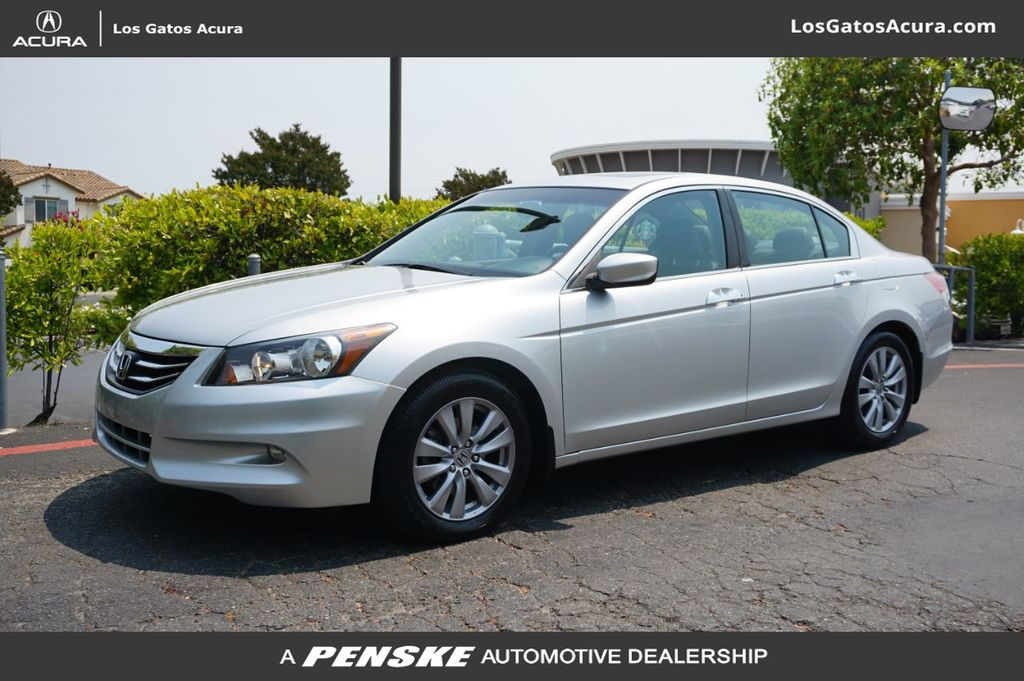 Pre-Owned 2012 Honda Accord Sedan 4dr V6 Automatic EX-L