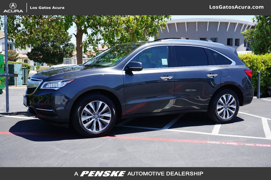 PreOwned Acura MDX SHAWD Dr WTech SUV In Los Gatos - Acura mdx pre owned