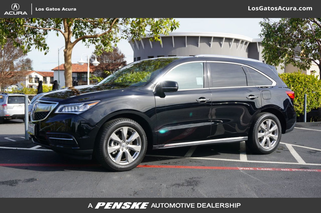 Pre-Owned 2016 Acura MDX 4DR SH-AWD ADV/ENT