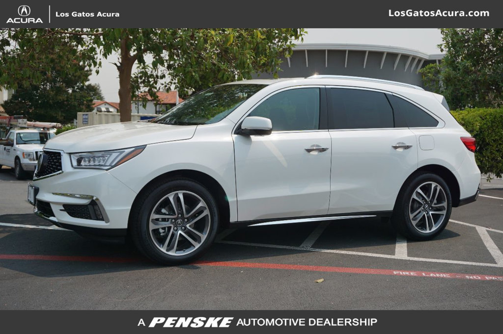 New Acura MDX SHAWD With Advance Package SUV In Los Gatos - 2018 acura mdx wheels