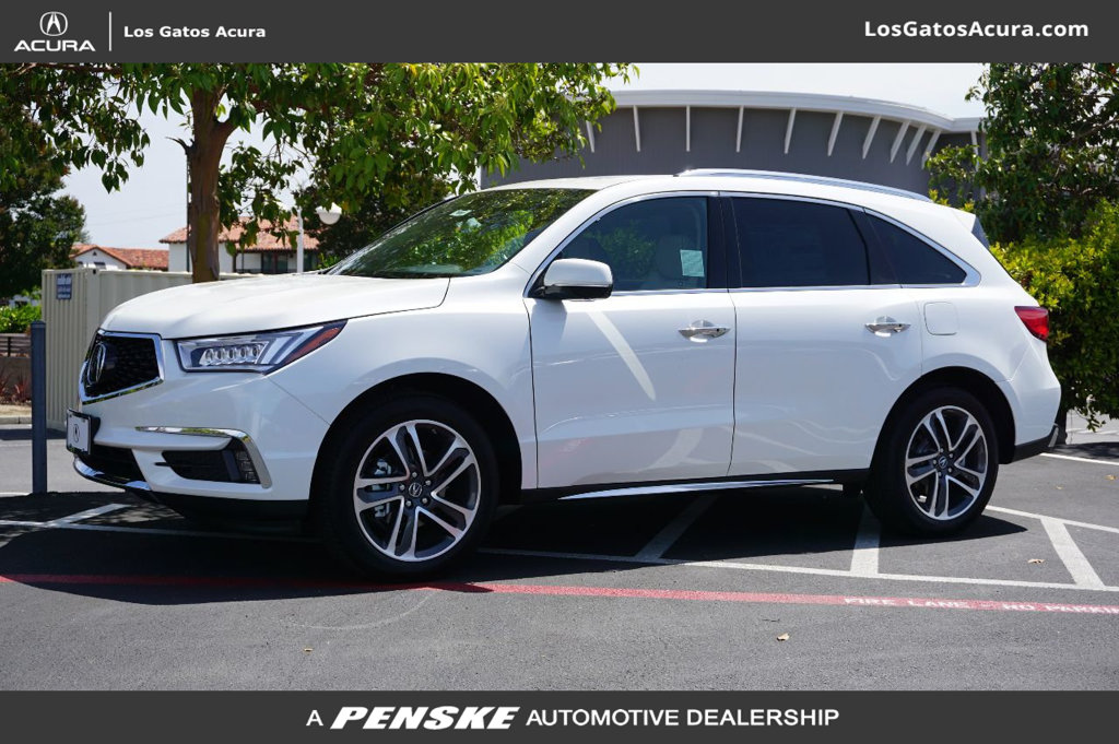 Pre-Owned 2018 Acura MDX SH-AWD w/Advance/Entertainment Pkg