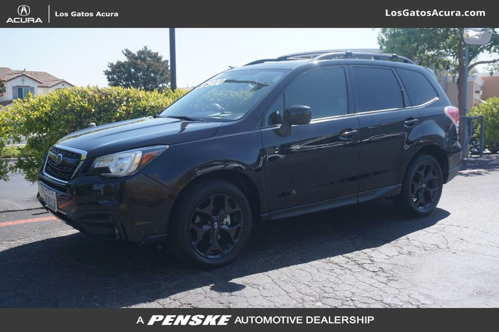 Pre-Owned 2018 Subaru Forester 2.5I PREMIUM BLACK E