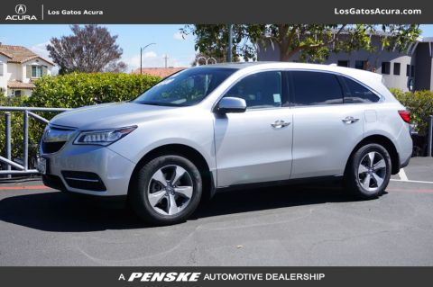 Pre-Owned 2014 Acura MDX AWD 4dr