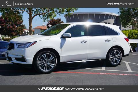 Certified Pre-Owned 2019 Acura MDX SH-AWD w/Technology/Entertainment Pkg