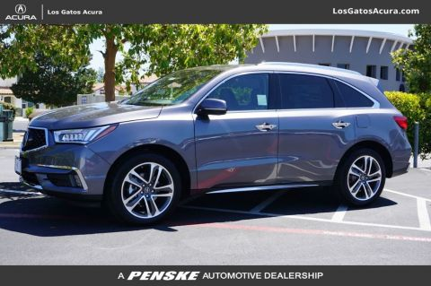 Certified Pre-Owned 2018 Acura MDX SH-AWD w/Advance Pkg
